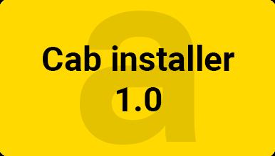 Cab installer 1.0